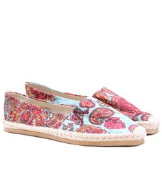 Touristor Espana Blue Loafers Blue Loafers, Printed Shoes, Loafers Online, Espadrilles, Stuff To Buy, Shopping, Fashion, Espadrilles Outfit, Moda