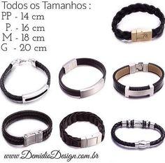 Pulseiras Masculinas com Descontos de até 40% CLIQUE AQUI E CONHEÇA: http://demidiodesign.com.br/pulseiras/subcategoria.html