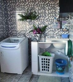 Bora put this machine to work? It was pr . Room Interior, Interior Design Living Room, Living Room Designs, Outdoor Laundry Rooms, Pool Table Room, Laundry Room Design, Cuisines Design, Diy Home Decor, Sweet Home