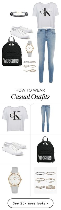 """""""Casual clothing :)"""" by hewlett74 on Polyvore featuring LULUS, Givenchy, Lacoste, Moschino and Boohoo"""