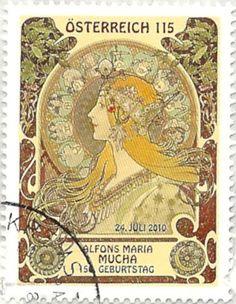 Austrian Alfons Maria Stamp More about #stamps: http://sammler.com/stamps/ Mehr über #Briefmarken: http://sammler.com/bm