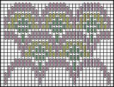 The Crowded Theatre Decorative Stitch Diagram 3