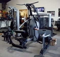 Precor 3.55 Home gym with Leg Press (barely used)