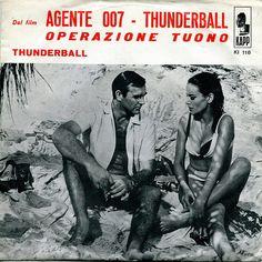 Jimmy Sedlar, His Trumpet and Orchestra Agente 007 - Thunderball Dal film Operatzione Tuono Label: Kapp Arranged by Charlie Calello