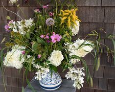 I was blown away by the beautiful arrangements of wildflowers that were placed throughout the party by Eleanora Kennedy, who graciously lent us her home for the occasion.