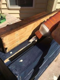 My Wood Crate Nightstand