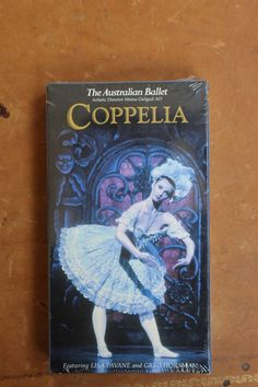 The Australian Ballet - Coppelia VHS NEW Dance Performance