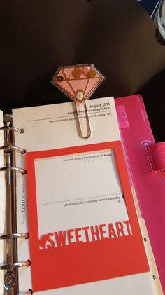 Shaker Paperclip/ Schüttel Paperclip/ Lesezeichen/ Bookmark