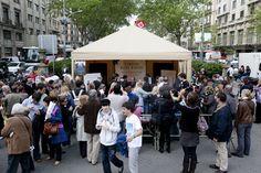 Carlos Ruiz Zafón fue uno de los triunfadores del Día del Libro en Barcelona