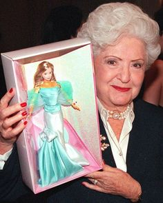 """Barbie was """"born"""" on March 9, 1958 -- the day Mattel president and Barbie inventor Ruth Handler debuted the doll at the American International Toy Fair in New York."""