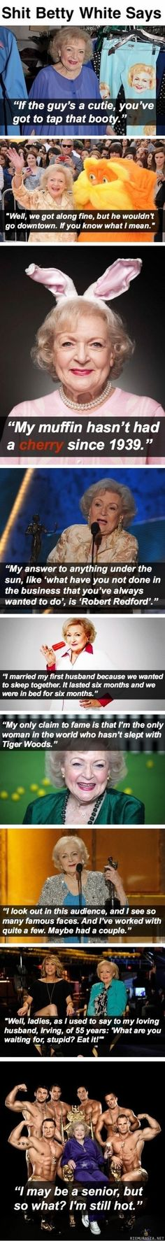 Betty White :D