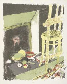 De haard (L'âtre), 1899, Edouard Vuillard, Van Gogh Museum, Amsterdam (Vincent van Gogh Stichting)