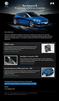 Project: Volkswagen Scirocco Long Lead. Role: Producer. Agency: Tribal DDB.