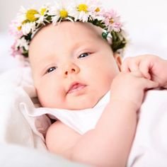 86 Baby Names You Haven't Heard Of (But Will) Example: Wildflower-Inspired Names