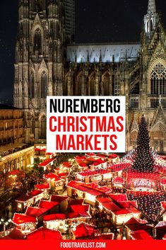 Visit one of the best Christmas Markets in Germany. Nuremberg features Christmas Markets that go throughout the town. Special children's sections, musical sections and of course lots of food and gift ideas to browse and admire.  #ChristmasMarket #Germany