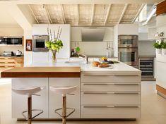 square modern kitchen island #kitchenenvy #love #SoFloHome