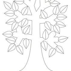 Plantillas gratuitas para hacer tu árbol genealógico Family Tree Templates, Free Stencils, Plants