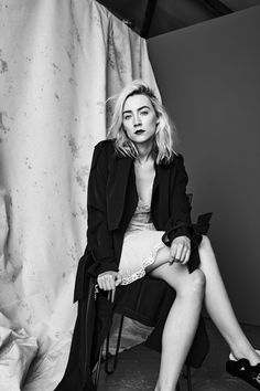 Saoirse Ronan, photographed by Matthew Kristall for The Sunday Times Style, Feb 11, 2018.
