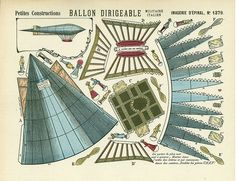 epinal 1379_ballon dirigeable Big thank you to Tom for these 3 beautiful Greensfelder boards Epinal check out this website for many other nice items