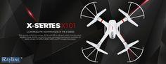 RC Quadrocopter MJX X101 FPV 2.4 GHz 6-Achsen Gyro Remote Control Drone, Drones, Gadgets, Key, Appliances, Unique Key