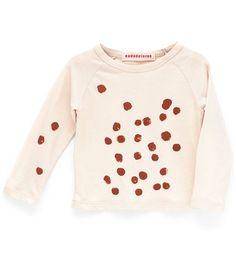 Camiseta Brown Finger Dots de Nadadelazos