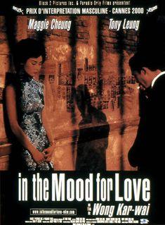 In the Mood for Love est un film de Wong Kar-Wai avec Tony Leung Chiu Wai, Maggie Cheung. Synopsis : Hong Kong, 1962. M. et Mme Chow emmenagent dans leur nouvel appartement le meme jour que leurs voisins, M. et Mme Chan. Sans comprendre comment cela a