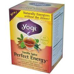 Yogi Perfect Energy Vanilla Spice Tea (6x16 Bag)