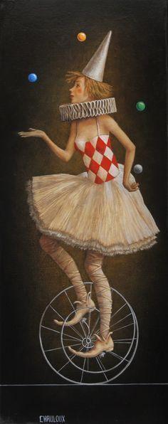 Catherine Chauloux   ACRYLIC | L'acrobate