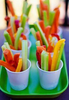 Gemüsebecher für Kinder