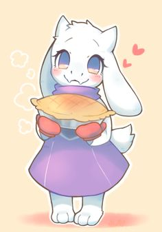 Undertale Toriel by wolfwithribbon