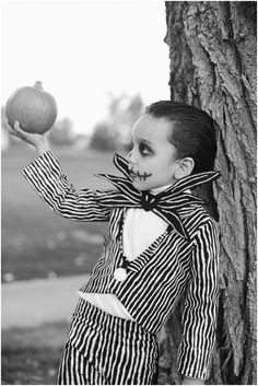 Jack Skellington kid costume - made by  @Danny-Kalie Archuleta
