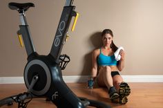 Ride until you drop with the #Evo Fitness bike! The #Evo Indoor #Cycle is revolutionizing the way people ride.