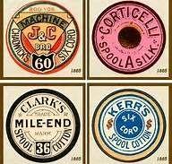 Spool labels