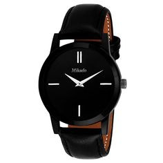 965a7cde5bd Buy Mikado Analogue Black Dial Men s   Boy s Watch - Slim Ds1 Online at Low  Prices in India - Amazon.in
