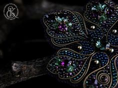 Beadwork Designs, Brooches Handmade, Bead Weaving, Beads, Beautiful, Jewelry, Detail, Sequins, Beading