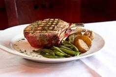 Bellisio's fennel roasted rack of pork Rack Of Pork, Italian Village, Fennel, Italian Recipes, Steak, Roast, Food, Meal, Roasts