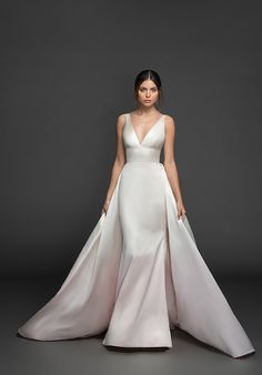 How To Dress For A Wedding, Fit And Flare Wedding Dress, Lazaro Wedding Dress, Wedding Gowns, Kleinfeld Wedding Dresses, Bridal Gowns, Wedding Suite, Wedding Bells, Lace Wedding
