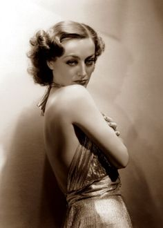 Joan Crawford | Photographed the year she appeared in Sadie McKee, 1934.
