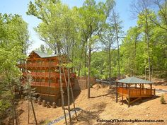 1000 images about 7 bedroom cabins in gatlinburg on for Www cabins of the smoky mountains com