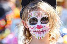 Dia de Los Muertos Hollywood Forever Cemetery 11.2.13 3 by Marcie Gonzalez, via Flickr