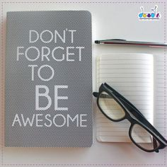 #‎FathersDay‬ is almost near! Gift your daddy our ' Be Awesome' diary from our collection! Check it out here: http://bit.ly/1FYEssV, ‪#‎Diary‬ ‪#‎Gift‬ ‪#‎FathersDayGift‬ ‪#‎Gifting‬