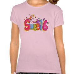 Sweet Sixteen Girl Cartoon