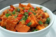 Sweet potatoes rock! And this super-food salad does too. Plus it's paleo.