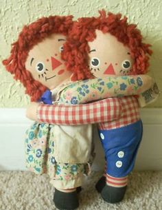 Previous Pinner says : Because my  mother always hand made them for those she loved                        Raggedy Ann was my best friend.
