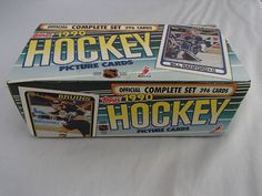 Topps 1990 Hockey Picture Cards 396 Trading Card Official Complete Set NHLPA