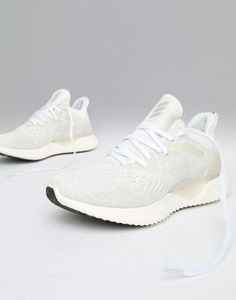 4c078410a47d adidas Running Alphabounce Trainers In White