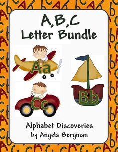 Preschool printable packs