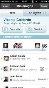 Nuevos servicios de la aplicación de conducción social Waze