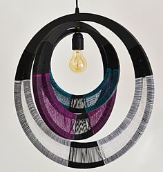 African Woven Necklace lampshade | Modern Gesture | Online Shop