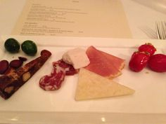 Cured meats and cheeses at Wine & Roses by Chef Didier with Lodi Wine!